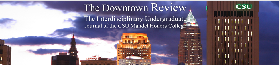 The Downtown Review publication logo
