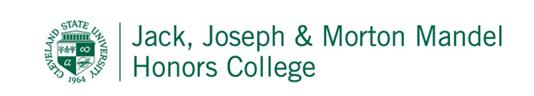 Mandel Honors College logo image