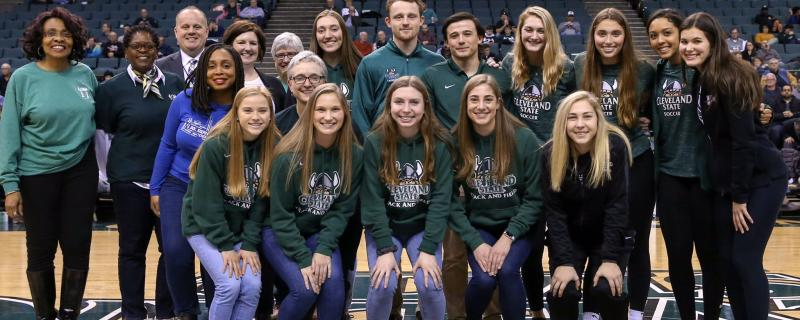 Honors Student Athletes honored at the Vikings Game
